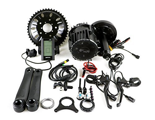 BBSHD BBS03 48V 1000W 8fun Bafang Mid Drive Ebike Kit BB width:120mm Electric Bicycle