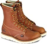 Thorogood American Heritage 8' Plain Toe Boot, Tobacco Gladiator, 10.5 2E US