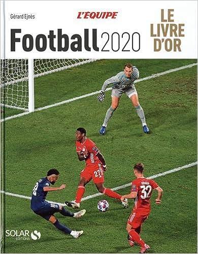 LE LIVRE D'OR DU FOOTBALL 2020 Couverture du livre
