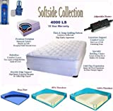 Product review for Queen Size 60 x 80 4000LS Softside Pillow Top Complete Waterbed with Mattress, Foundation, Frame, Heating System, Conditioner & Electric Pump