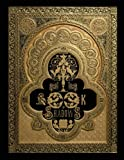"""Book of Shadows: Magic Spell Book, Potion Log, Magic Journal   110 blank pages with ornaments   cream paper   durable softcover   large ( 8.5""""x11"""")"""