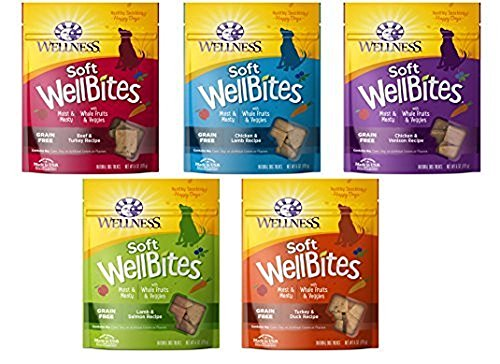 Wellness Wellbites Soft & Chewy Variety Pack (5 flavors, 6 ounce bags) 1