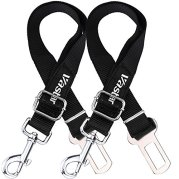 Vastar-2-Packs-Adjustable-Pet-Dog-Cat-Car-Seat-Belt-Safety-Leads-Vehicle-Seatbelt-Harness-Made-from-Nylon-Fabric