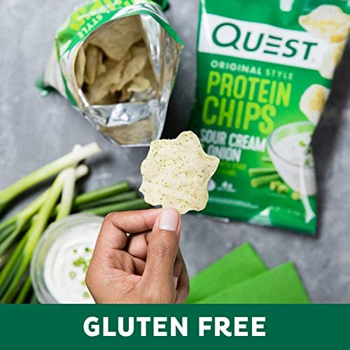 Quest Nutrition Protein Chips, Sour Cream & Onion, Pack of 12 7