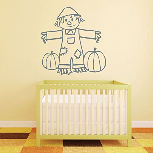 Halloween Decorations - Cute Scarecrow With Pumpkins - Halloween ...