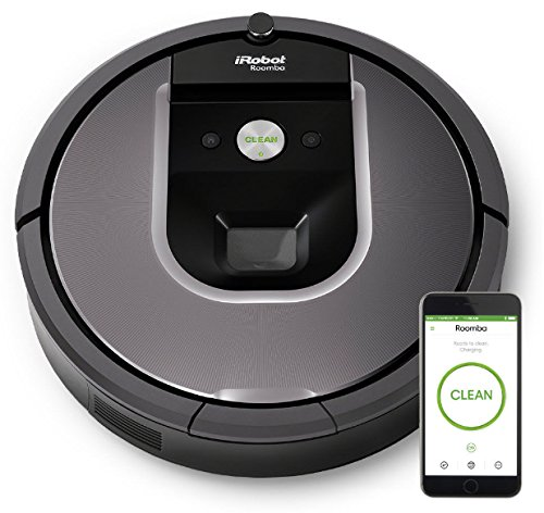 iRobot Roomba 960 Robot Vacuum with Wi-Fi Connectivity powered by Lithium Ion