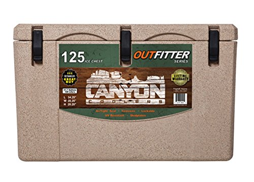 Canyon Coolers Outfitter Series 125-qt. Cooler - Sandstane
