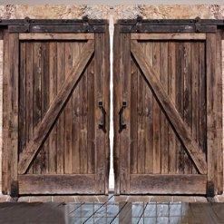 Barn Door Rustic Curtains