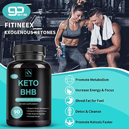 Keto Pills - Keto Diet Pills (800mg | 90 Capsules), BHB Ketogenic Supplement Exogenous Ketones Ketosis Keto Fast Burn Capsules - Support Weight Management & Metabolism, Boost Energy & Focus 7