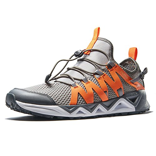 RAX Men's Quick Drying Slip-Resistent Aqua Water Hiking Shoes(9.5 US)