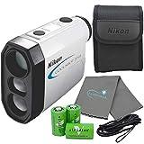Nikon Coolshot Golf Laser Rangefinder Bundle with...