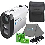 Nikon Coolshot Golf Laser Rangefinder Bundle with...