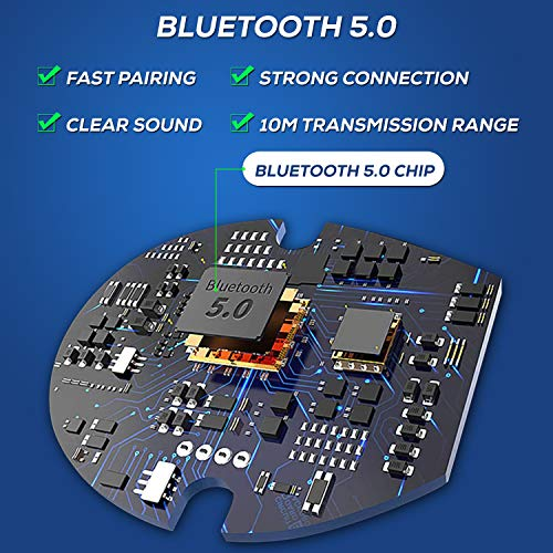 51YczElJbkL WeCool N1 Bluetooth Headphones with Dynamic Drivers for Immersive Music Expertise, IPX5 Sweatproof, 12 Hours Playtime, Versatile Neckband Earphones (Black)