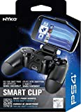 Nyko Smart Clip - PlayStation DUALSHOCK 4 Controller Clip on Mount for Android Phones, Samsung Galaxy S6, S7, S8, S9, Edge, Note 8, Note 9, iPhone 6/S/+, iPhone 7/S/+, iPhone 8/S/+, iPhone X/XS/ XS Max/+, Max Clamp 6 Inches