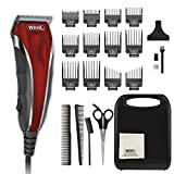 Wahl Clipper Compact Multi-Purpose Haircut, Facial, & Body Grooming With Extreme Power & Easy Clean Blades - 22 Piece Kit - By The Brand Used By Professionals - Model 79607