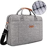 [Upgraded Shock-Proof] E-Tree 17.3 inch Laptop Sleeve Handbag for 17 to 17.3 MacBook/Notebook | Ultra Light-Weight Oxford Laptop Shoulder Bag - Grey