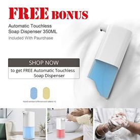 JOINT-STARS-Touchless-Hand-Sanitizer-Dispenser-1000-ml-Container-with-Durable-Floor-Stand-and-Drip-Tray-for-Commercial-and-All-Public-Placesrefillable-Portable-Hand-sanitizer-Stations
