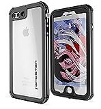 Ghostek Atomic Waterproof Case Compatible with iPhone 8 Plus & iPhone 7 Plus - Black