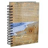Footprints Prayer Hardcover Wirebound Journal