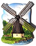 Wind Mill. Holland. Netherland, High Quality Resin 3d Fridge Magnet