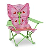 Melissa & Doug Personalized Sunny Patch Bella Butterfly Outdoor Folding Lawn & Camping Chair
