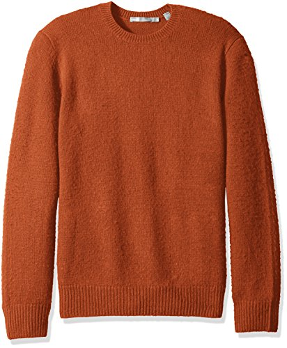 51YymdLrFoL Lofty Italian merino wool blend Contrast rib knit hem, neck and sleeve cuffs Extended long sleeves