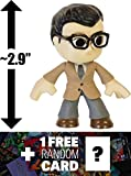 "Clark Kent: ~2.9"" Batman v Superman 'Dawn of Justice' x Funko Mystery Minis Vinyl Figure Series + 1 FREE Official DC Trading Card Bundle [87388]"