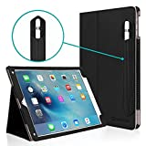 iPad Pro 9.7 Case, [Corner Protection] CaseCrown Bold Standby Pro (Black) Case w/ Apple Pencil Holder for iPad Pro 9.7 Inch 2018 - Sleep / Wake, Hand Grip, & Multi-Angle Viewing Stand