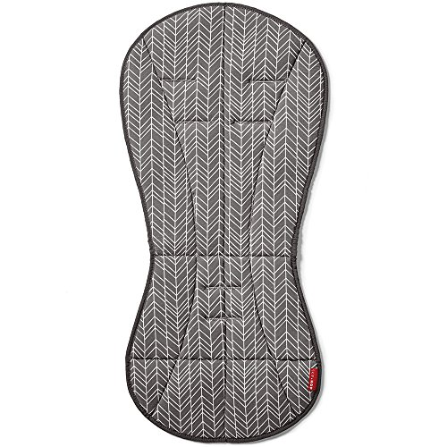 Skip Hop Stroll-and-Go Cool Touch Stroller Liner, Grey Feather