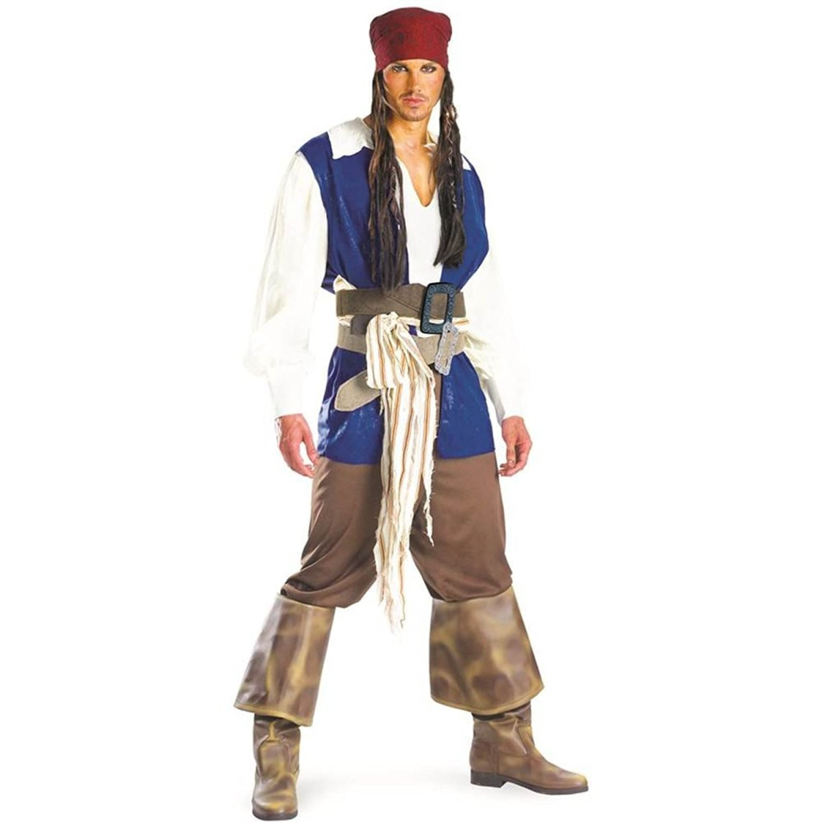 Disguise Men's Disney Pirates Classic Costume