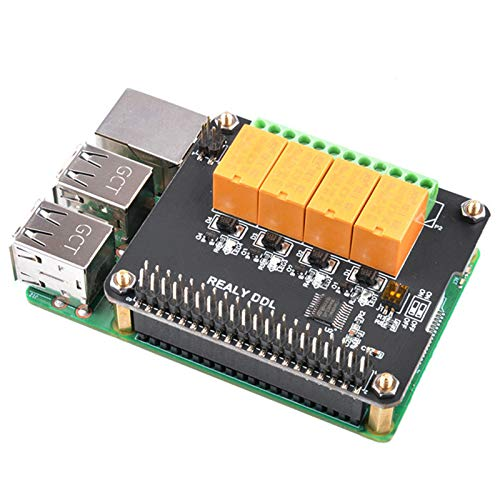 MakerFocus-Raspberry-Pi-Expansion-Board-4-Channel-Relay-Board-Module-Power-Relay-Module-for-Raspberry-Pi-4B3-Model-BRaspberry-Pi-32-Model-B-No-Programming-RequiredProgrammable