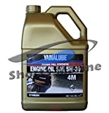 Yamaha Yamalube Four Stroke 5W-30 Full Synthetic Outboard Motor Oil (1 Gallon)