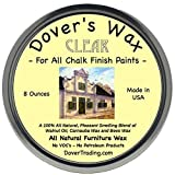 Dover's Wax for Chalk Finish Furniture Paint Clear