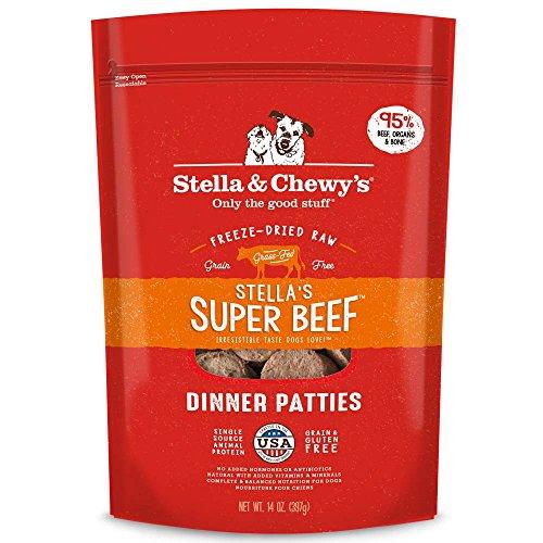 Stella & Chewy's Freeze-Dried Raw Stella's Super Beef Dinner Patties Grain-Free...