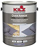 KILZ Over Armor Textured Wood/Concrete Coating, 1 gallon, Slate Gray