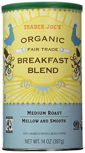 Trader Joe's Organic Fair Trade Breakfast Blend