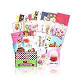 Greeting Cards Assortment for All Occasions – 30 Pack Box Set Handpicked Greeting Card Assorted Blank Cards with Envelopes 5x7'   Sympathy, Thank you, Congratulations, Happy Birthday Cards and More