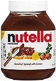Nutella, Hazelnut Spread with Cocoa - 33.5 Ounce Jar (2.093 Lb, 950g)
