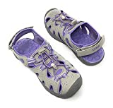Khombu Kids Athletic Boys Grey Active Sandals (3)