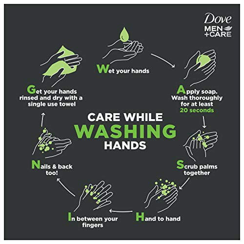 Dove Men+Care 3 in 1 Bar To Clean and Hydrate Skin Extra Fresh More Moisturizing Than Bar Soap 3.75 oz 10 Bars 5