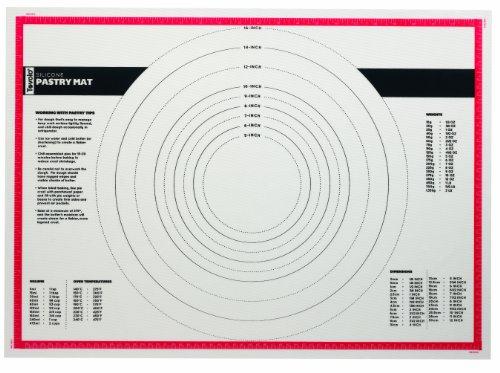 Tovolo Silicone, Non-Stick, Pastry Prep Mat, 25×18 Inches