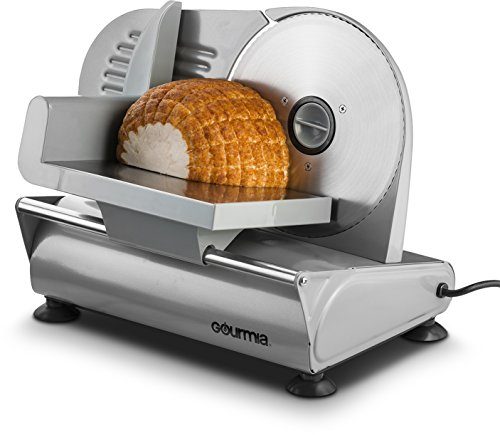 Gourmia GFS-700 Counterman Professional Electric Power Food & Meat Slicer, 7.5