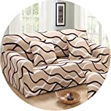 Slipcover Stretch Four Season Sofa Covers Furniture Loveseat Couch Cover Sofa,Color 1,Single Seat