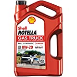Rotella Gas Truck 0W-20 Full Synthetic Motor Oil, 5 Quart - Pack of 1