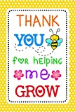Thank You for Helping Me Grow: Teacher Notebook, Best Teacher Thank You Gift,Teacher Appreciation Gift, End of Year or Back to School Teacher Gift, Cute Lined Journal (Teacherlife)