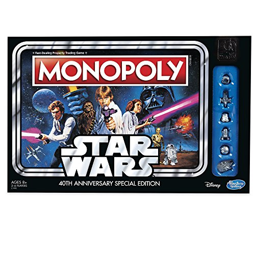 Hasbro Monopoly Game Star Wars 40th Anniversary – LOW PRICE