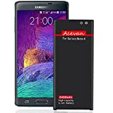 Note 4 Battery Acevan 3450mAh Li-ion Replacement Battery for Samsung Galaxy Note 4 N910, Verizon N910V, AT&T N910A, Sprint N910P, T-Mobile N910T, N910F, N910U LTE, Note4 Spare battery[3 Year Warranty]
