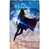 "C&W Endless Sky - Supergirl TV Show - Beach Towel (30"" x 60"")"