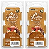 Glade Wax Melts Air Freshener - Holiday Collection 2018 - Nutcracker Delight - Net Wt. 2.3 OZ (66 g) Per Package - Pack of 2 Packages