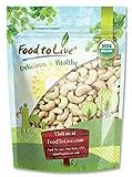 Organic Cashews, 8 Ounces - Whole, Size W-240, Unsalted, Non-GMO, Kosher, Raw, Vegan, Bulk